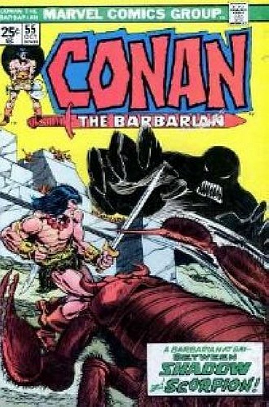 Cover of Conan the Barbarian (Vol 1) #55. One of 250,000 Vintage American Comics on sale from Krypton!