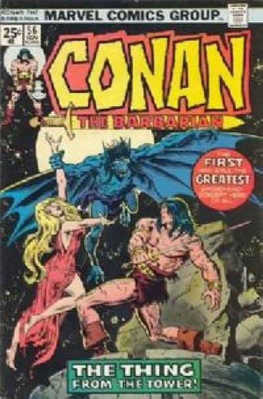 Cover of Conan the Barbarian (Vol 1) #56. One of 250,000 Vintage American Comics on sale from Krypton!