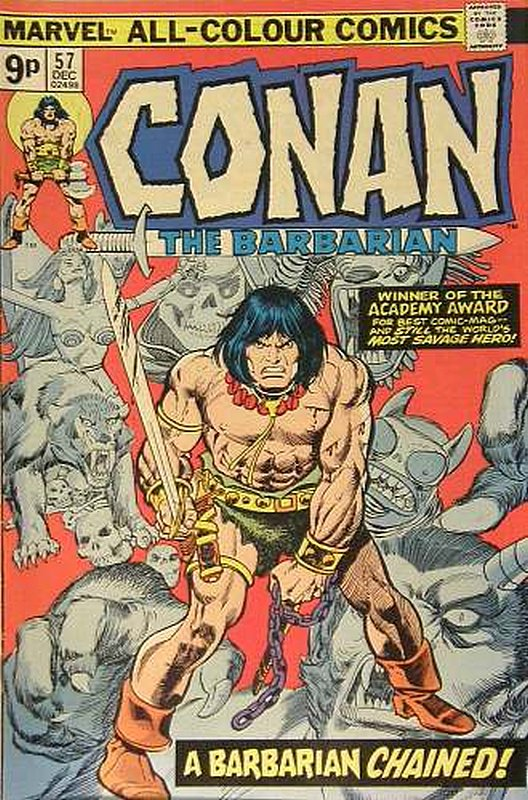 Cover of Conan the Barbarian (Vol 1) #57. One of 250,000 Vintage American Comics on sale from Krypton!