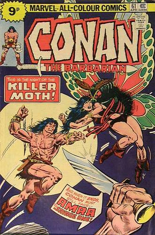 Cover of Conan the Barbarian (Vol 1) #61. One of 250,000 Vintage American Comics on sale from Krypton!