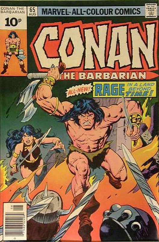 Cover of Conan the Barbarian (Vol 1) #65. One of 250,000 Vintage American Comics on sale from Krypton!