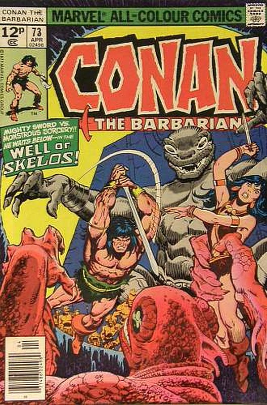 Cover of Conan the Barbarian (Vol 1) #73. One of 250,000 Vintage American Comics on sale from Krypton!