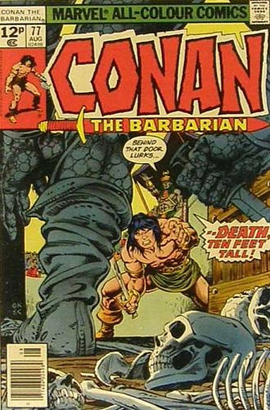 Cover of Conan the Barbarian (Vol 1) #77. One of 250,000 Vintage American Comics on sale from Krypton!