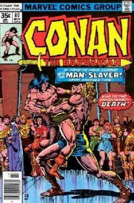 Cover of Conan the Barbarian (Vol 1) #80. One of 250,000 Vintage American Comics on sale from Krypton!