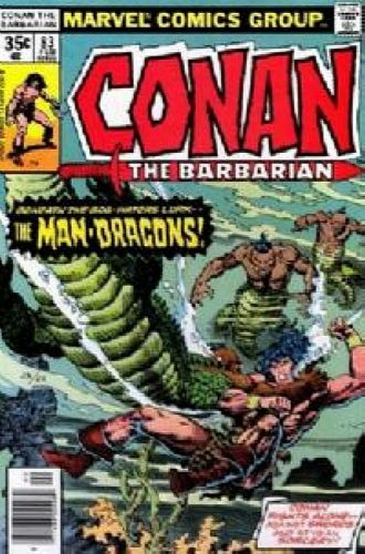 Cover of Conan the Barbarian (Vol 1) #83. One of 250,000 Vintage American Comics on sale from Krypton!