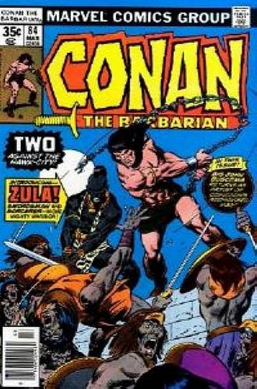 Cover of Conan the Barbarian (Vol 1) #84. One of 250,000 Vintage American Comics on sale from Krypton!