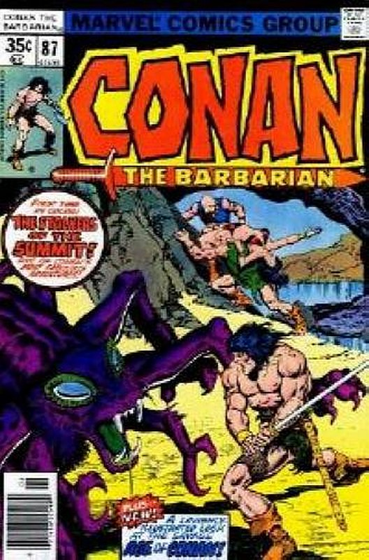 Cover of Conan the Barbarian (Vol 1) #87. One of 250,000 Vintage American Comics on sale from Krypton!