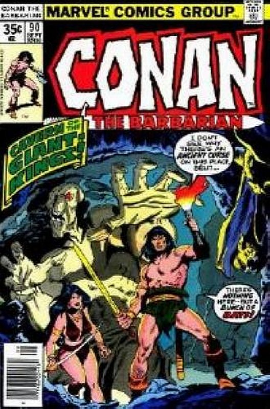 Cover of Conan the Barbarian (Vol 1) #90. One of 250,000 Vintage American Comics on sale from Krypton!