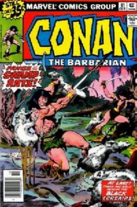 Cover of Conan the Barbarian (Vol 1) #91. One of 250,000 Vintage American Comics on sale from Krypton!