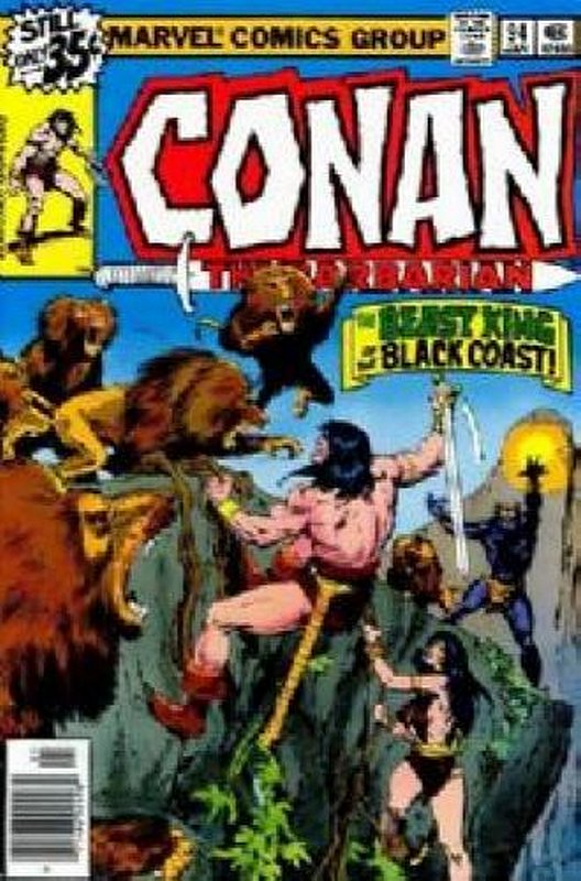 Cover of Conan the Barbarian (Vol 1) #94. One of 250,000 Vintage American Comics on sale from Krypton!