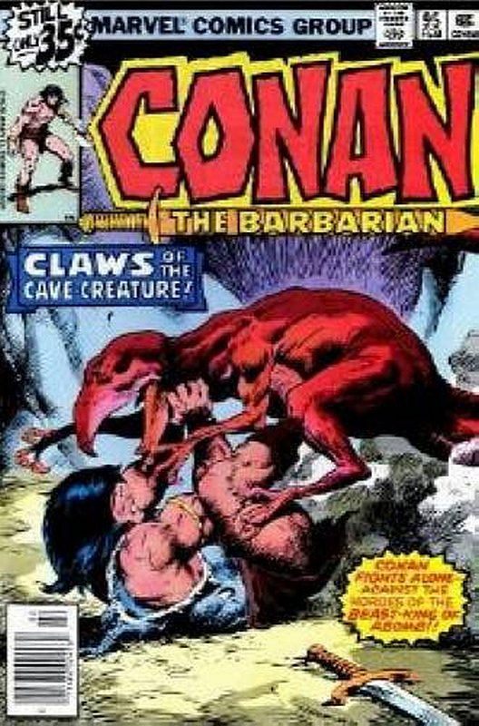 Cover of Conan the Barbarian (Vol 1) #95. One of 250,000 Vintage American Comics on sale from Krypton!