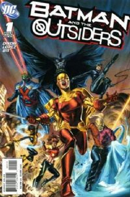 Cover of Batman & The Outsiders (Vol 2) #1. One of 250,000 Vintage American Comics on sale from Krypton!