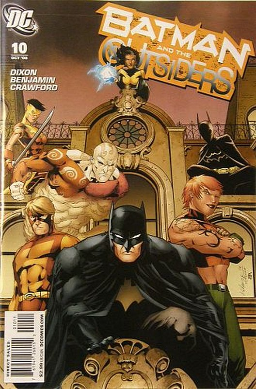 Cover of Batman & The Outsiders (Vol 2) #10. One of 250,000 Vintage American Comics on sale from Krypton!