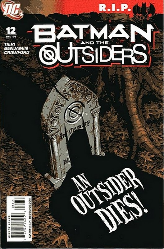 Cover of Batman & The Outsiders (Vol 2) #12. One of 250,000 Vintage American Comics on sale from Krypton!