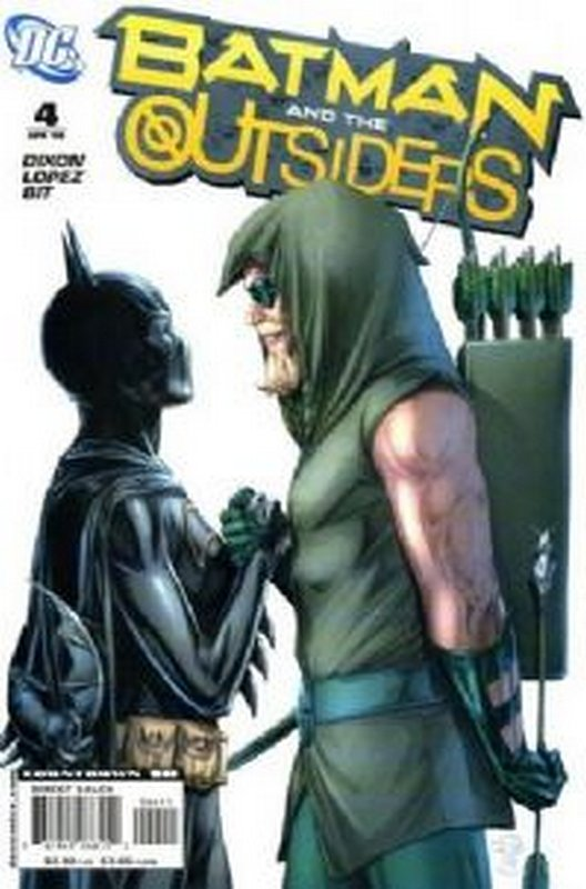 Cover of Batman & The Outsiders (Vol 2) #4. One of 250,000 Vintage American Comics on sale from Krypton!