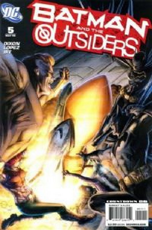 Cover of Batman & The Outsiders (Vol 2) #5. One of 250,000 Vintage American Comics on sale from Krypton!
