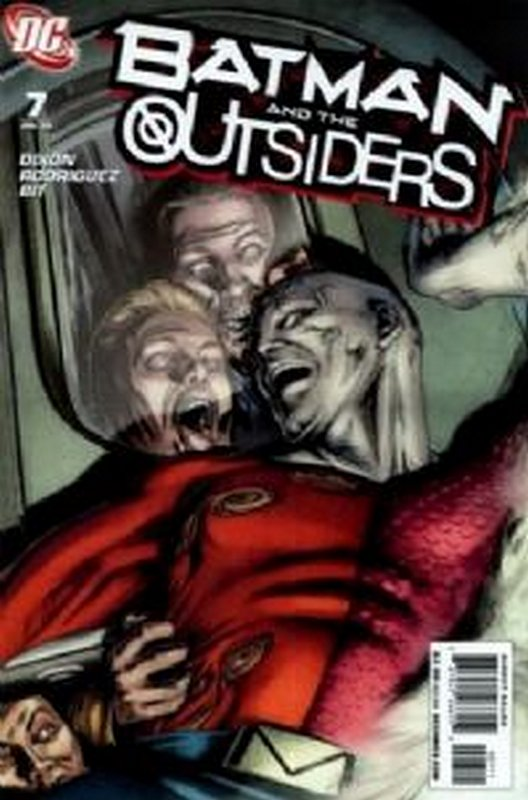 Cover of Batman & The Outsiders (Vol 2) #7. One of 250,000 Vintage American Comics on sale from Krypton!