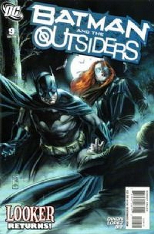 Cover of Batman & The Outsiders (Vol 2) #9. One of 250,000 Vintage American Comics on sale from Krypton!