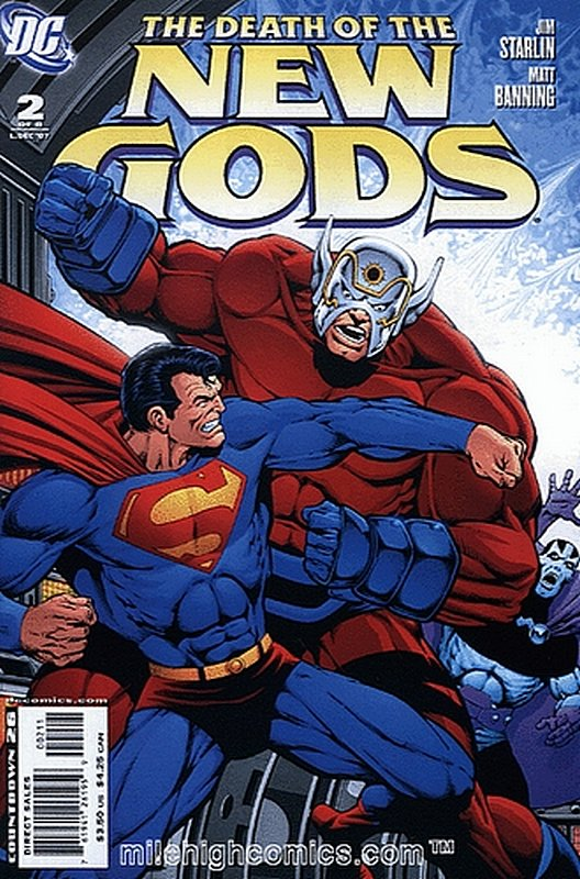 Cover of Death of the New Gods (2007 Ltd) #2. One of 250,000 Vintage American Comics on sale from Krypton!