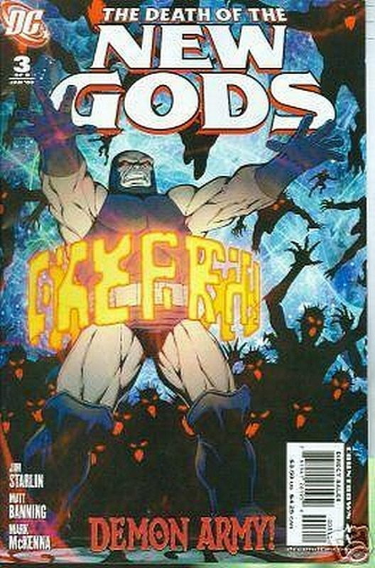 Cover of Death of the New Gods (2007 Ltd) #3. One of 250,000 Vintage American Comics on sale from Krypton!
