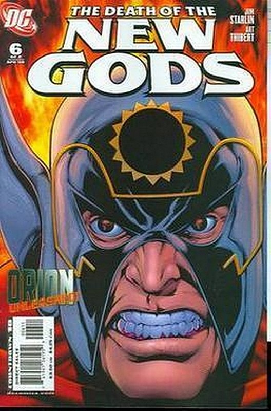 Cover of Death of the New Gods (2007 Ltd) #6. One of 250,000 Vintage American Comics on sale from Krypton!