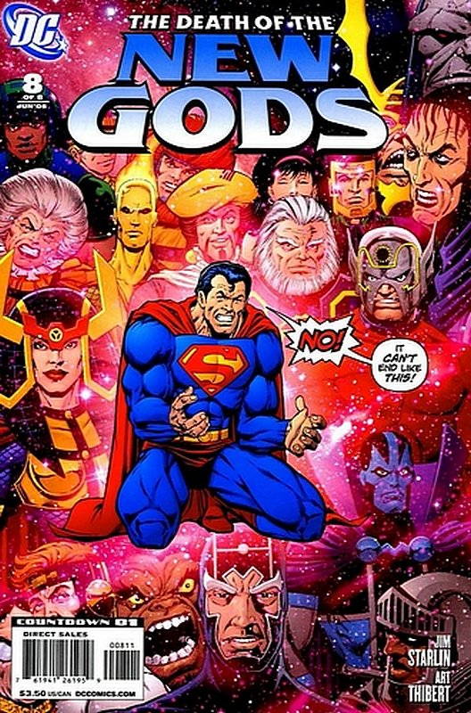 Cover of Death of the New Gods (2007 Ltd) #8. One of 250,000 Vintage American Comics on sale from Krypton!