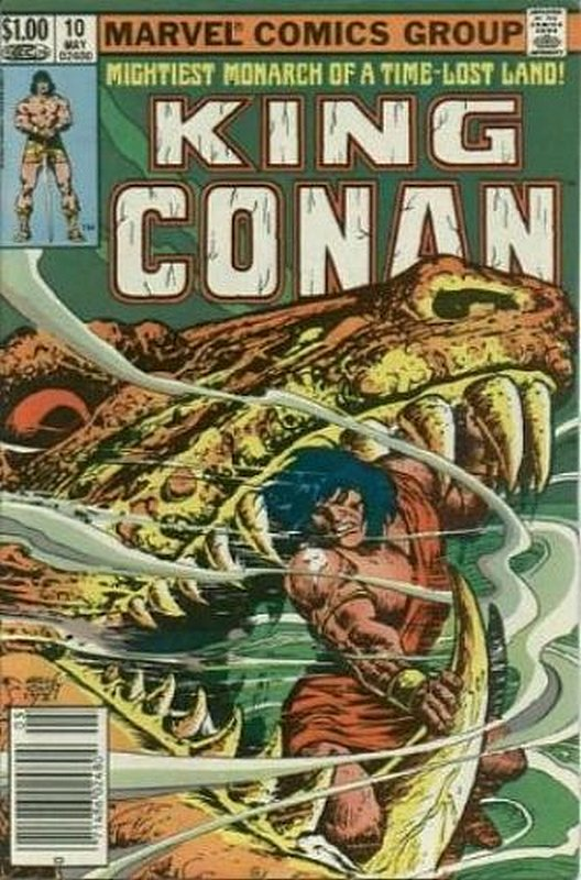 Cover of Conan the King (Vol 1) #10. One of 250,000 Vintage American Comics on sale from Krypton!