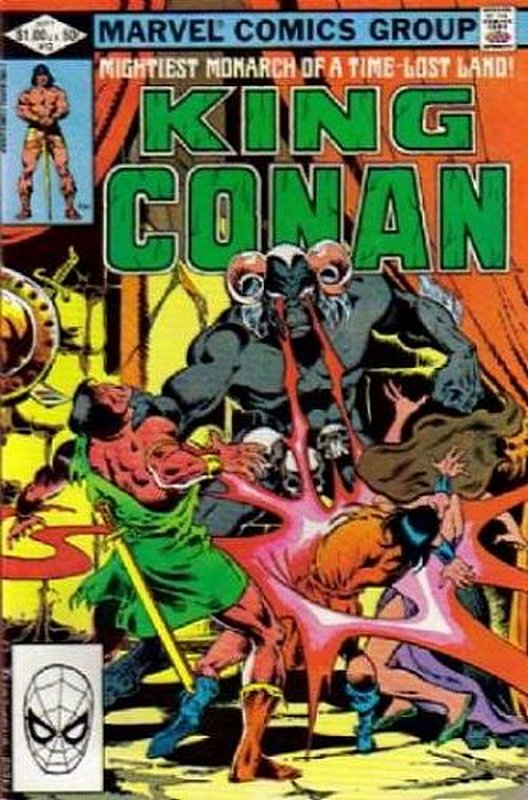 Cover of Conan the King (Vol 1) #12. One of 250,000 Vintage American Comics on sale from Krypton!