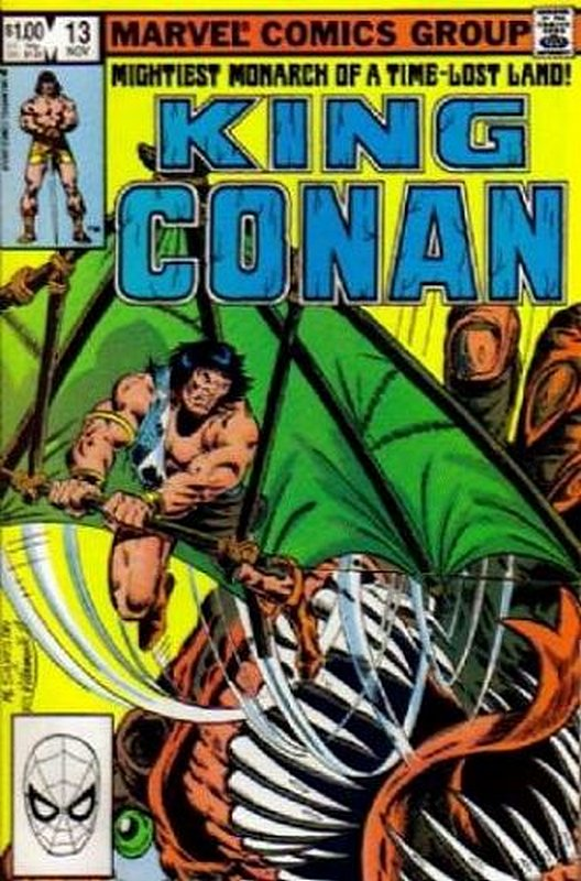 Cover of Conan the King (Vol 1) #13. One of 250,000 Vintage American Comics on sale from Krypton!