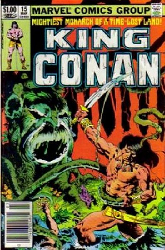 Cover of Conan the King (Vol 1) #15. One of 250,000 Vintage American Comics on sale from Krypton!