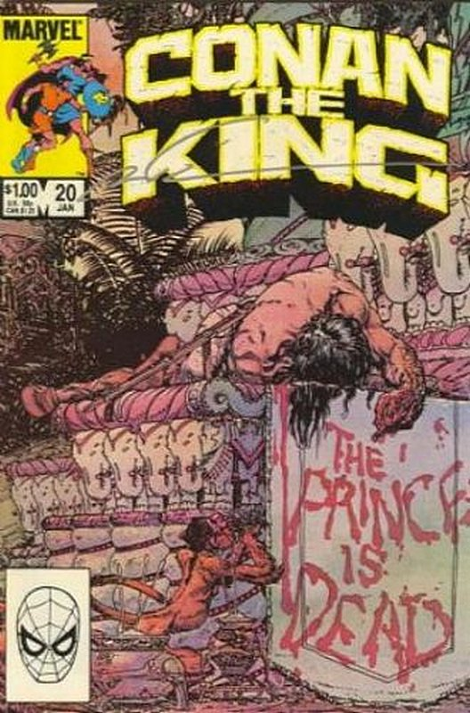 Cover of Conan the King (Vol 1) #20. One of 250,000 Vintage American Comics on sale from Krypton!
