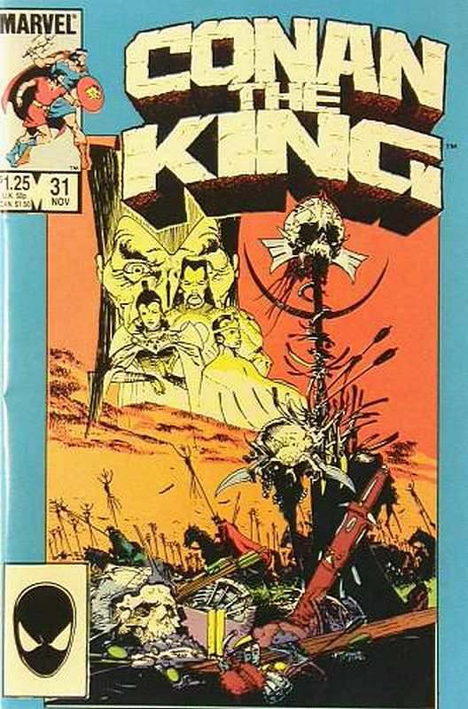 Cover of Conan the King (Vol 1) #31. One of 250,000 Vintage American Comics on sale from Krypton!