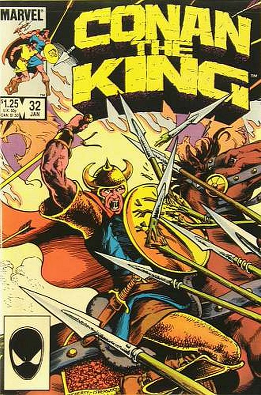 Cover of Conan the King (Vol 1) #32. One of 250,000 Vintage American Comics on sale from Krypton!
