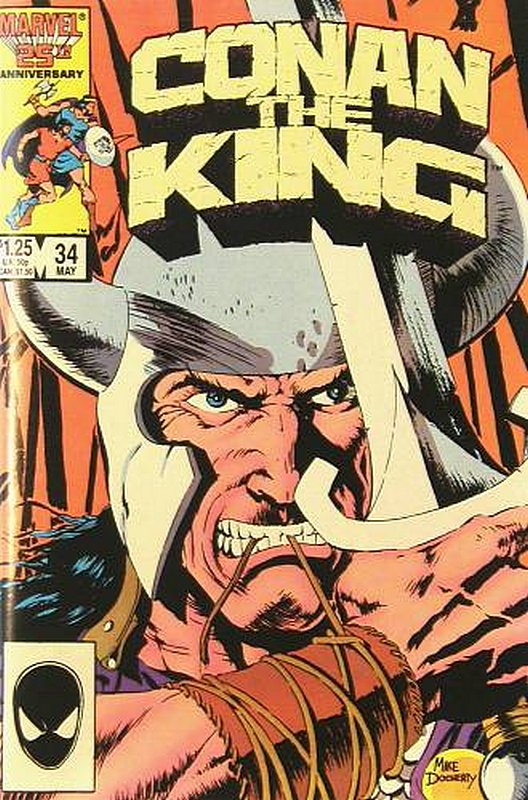 Cover of Conan the King (Vol 1) #34. One of 250,000 Vintage American Comics on sale from Krypton!