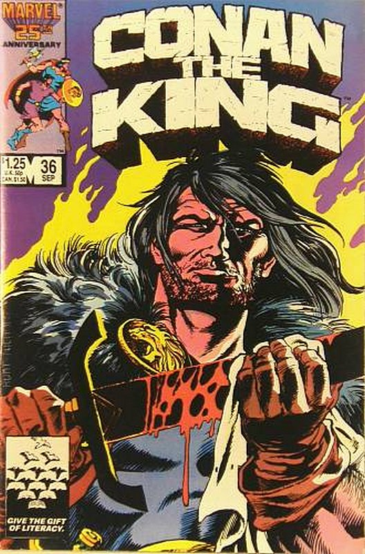 Cover of Conan the King (Vol 1) #36. One of 250,000 Vintage American Comics on sale from Krypton!