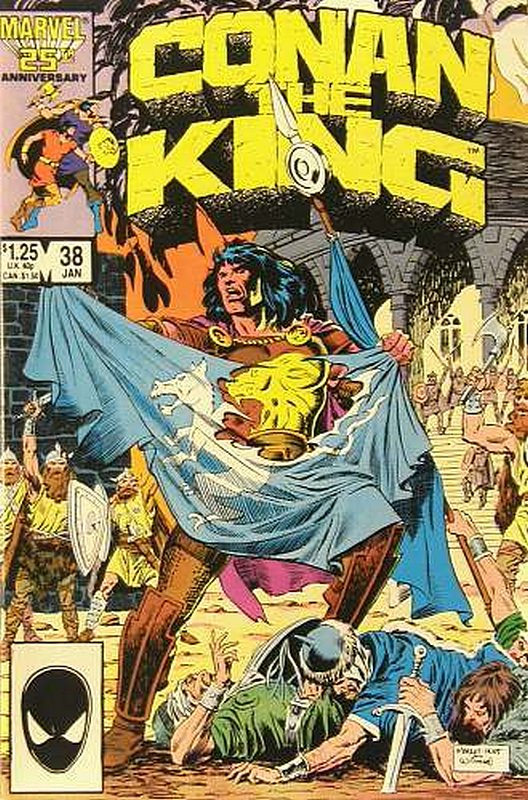 Cover of Conan the King (Vol 1) #38. One of 250,000 Vintage American Comics on sale from Krypton!