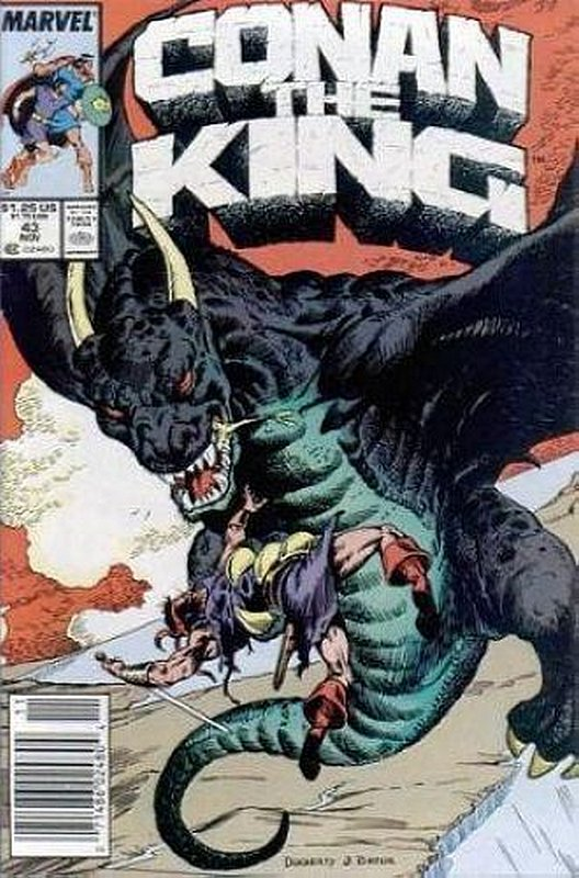 Cover of Conan the King (Vol 1) #43. One of 250,000 Vintage American Comics on sale from Krypton!