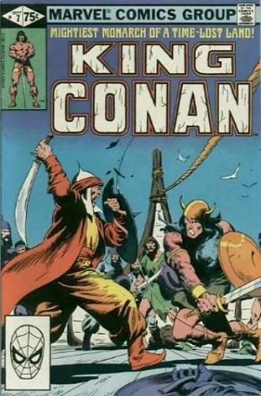 Cover of Conan the King (Vol 1) #7. One of 250,000 Vintage American Comics on sale from Krypton!