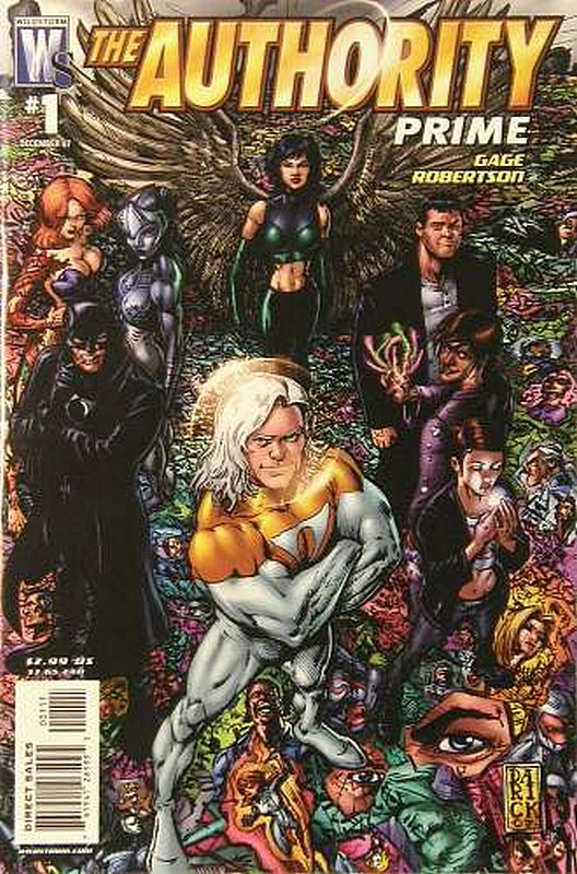 Cover of Authority: Prime (2007 Ltd) #1. One of 250,000 Vintage American Comics on sale from Krypton!