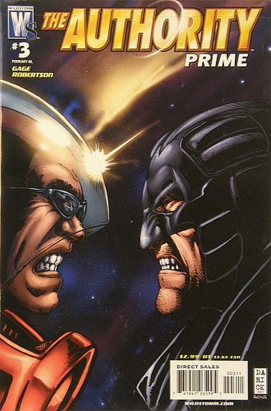 Cover of Authority: Prime (2007 Ltd) #3. One of 250,000 Vintage American Comics on sale from Krypton!
