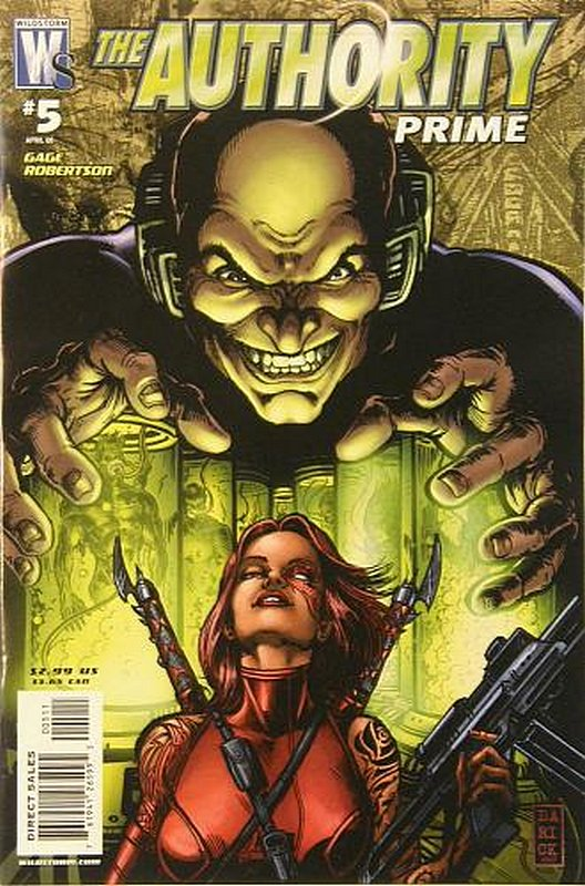 Cover of Authority: Prime (2007 Ltd) #5. One of 250,000 Vintage American Comics on sale from Krypton!
