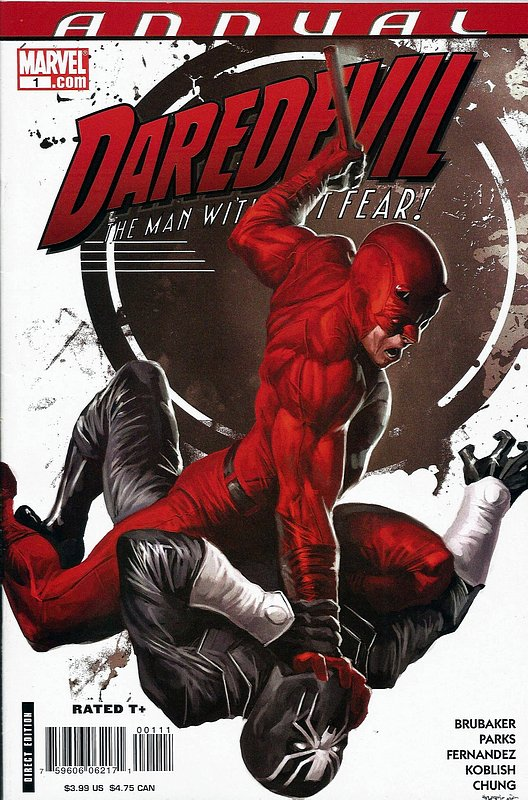 Cover of Daredevil Annual (Vol 2) #1. One of 250,000 Vintage American Comics on sale from Krypton!