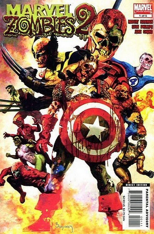 Cover of Marvel Zombies 2 #1. One of 250,000 Vintage American Comics on sale from Krypton!