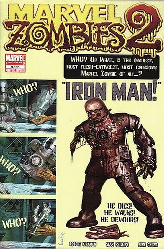 Cover of Marvel Zombies 2 #3. One of 250,000 Vintage American Comics on sale from Krypton!