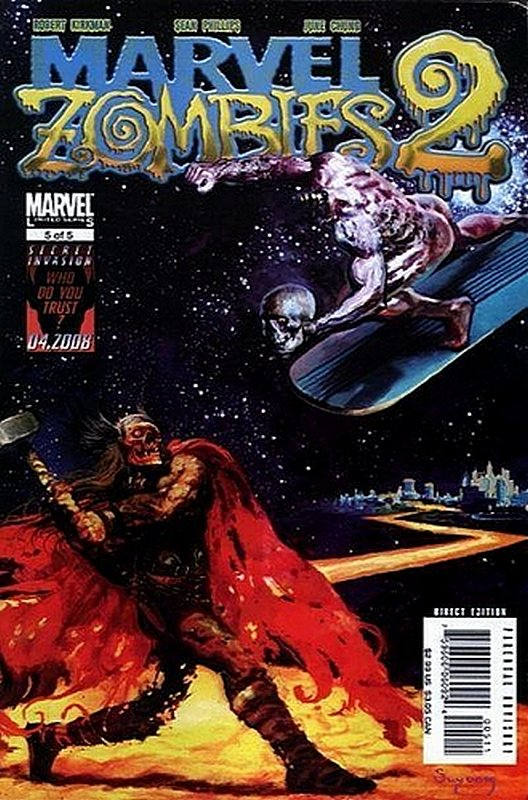 Cover of Marvel Zombies 2 #5. One of 250,000 Vintage American Comics on sale from Krypton!