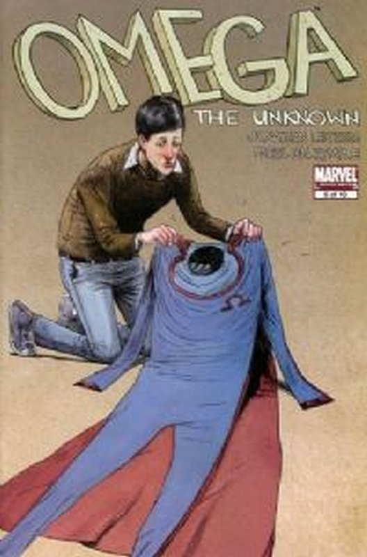 Cover of Omega The Unknown (2007 Ltd) #5. One of 250,000 Vintage American Comics on sale from Krypton!