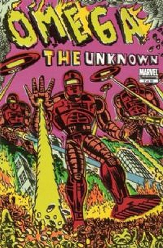 Cover of Omega The Unknown (2007 Ltd) #7. One of 250,000 Vintage American Comics on sale from Krypton!