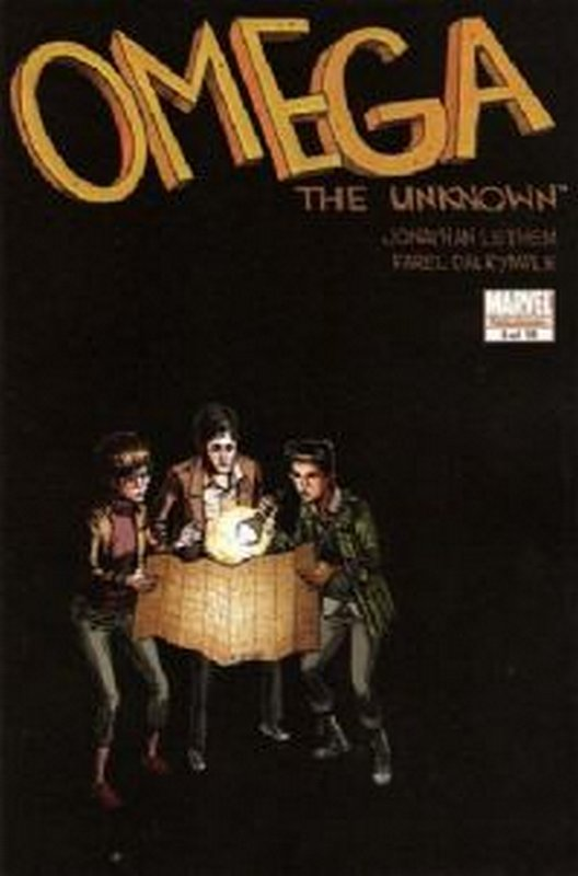 Cover of Omega The Unknown (2007 Ltd) #8. One of 250,000 Vintage American Comics on sale from Krypton!
