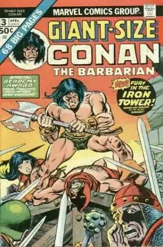 Cover of Giant-Size Conan the Barbarian (Vol 1) #3. One of 250,000 Vintage American Comics on sale from Krypton!