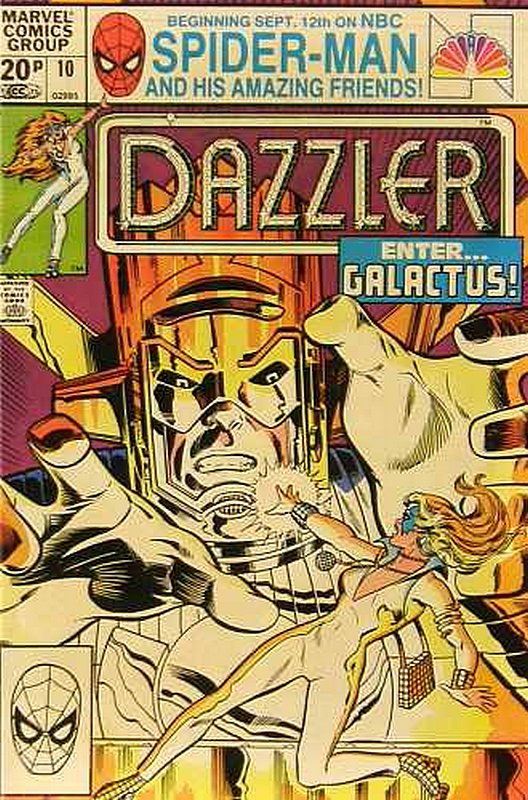 Cover of Dazzler (Vol 1) #10. One of 250,000 Vintage American Comics on sale from Krypton!
